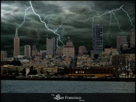 The San Francisco Storm by draxull
