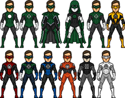Hal Jordan the Greatest GL by BAILEY2088