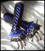 Mirth Corset Arm Warmers by ZenAndCoffee