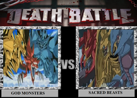Death Battle: God Monsters vs. Sacred Beasts by Austria-Man