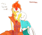 FP and Fionna by memmemn