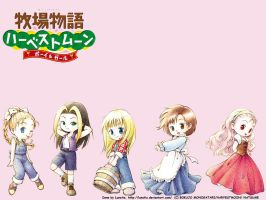 Harvest Moon wallpapers by Lunatia