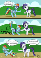 Classy MLP: FiM Comic by TheUnicornLord