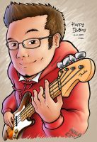 Arai Caricature by aphaits