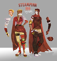 Steampunk Adoptables Batch 1 (OPEN) lowered prices by Vicky-Pandora