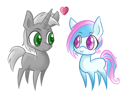 Chibi love by Cosmic-Candy-Shop