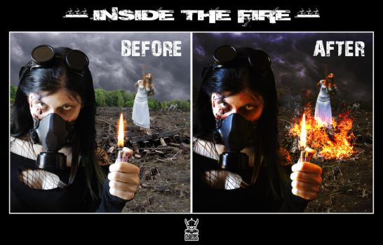inside the fire_before-after by the-art-of-matth