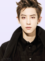 EXO: Chanyeol [Red-Vampire eyes] by DGeneration-LOL