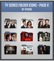 TV Series Folder Icons - Pack 11 by DYIDDO