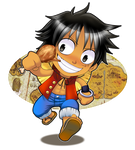 Monkey D. Luffy by Fannochka
