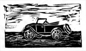 Old Car Print by Zethelius