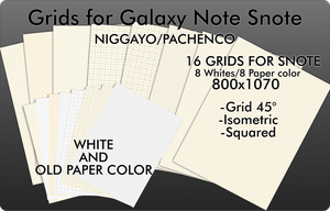 Grids for Galaxy Note (Snote) by Niggayo