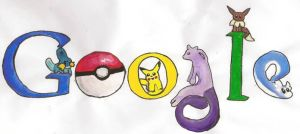 Pokemon Doodle 4 Google by Darkness-Fang