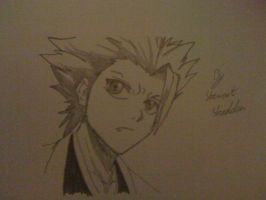 Captain Hitsugaya from bleach by captonstu
