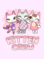 Animal Crossing - Kitten Crew [New Shirt!] by blue-pizza123