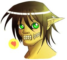 Kawaii Eren Titan by NexusDrakeson