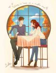 Falling in love at the coffee shop by BoffieXD