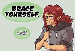 Brace Yourself. by conmandamned