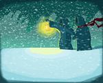 winter travelers. by MikeBear-A-Weanie