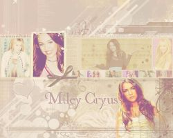 Miley Cyrus Wallpaper by Lucky-Lola
