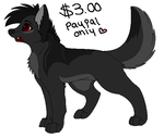 Cheap Adoptable Halloween Dog by AJ-Shep