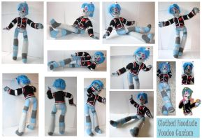 Hoodude Voodoo Custom Doll Clothed by tayba