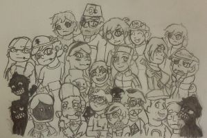 (Open) Ask Us - Pine Tree's Crew (Updated Version) by Anime-Greek