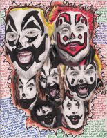 Violent J Thru the Years by pyroxide