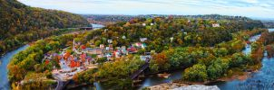 Harpers Ferry Fall by Kamal-Q