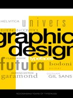 Graphic Design Typefaces by Envy07