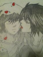 Beyond and Lawliet by BeyondBlood4