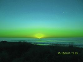 the green flash by mina-is-cool