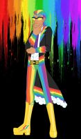 Male Rainbow Dash Gala Outfit by AlexKingOfTheDamned