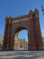 Arc de Triomphe in Barcelona by amarie28