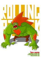 Street Fighter Tribute- Blanka by Itinen