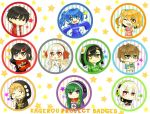 KAGEROU PROJECT:: Badge Set by yukinayee