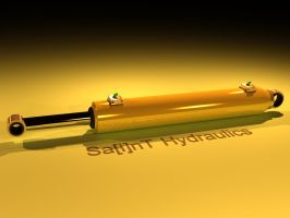 Hydraulic piston by SainT by thediamondsaint