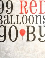 99 Red Balloons by laurag53