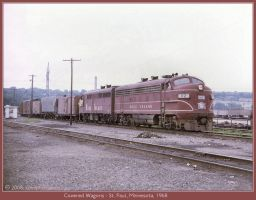 Covered Wagons by classictrains