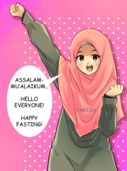 HAPPY FASTING by saurukent