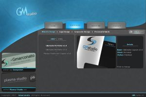 GMstudio Layout by Gmarconato by webgraphix