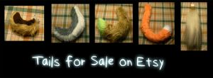 Tails for Sale on Etsy by WindWo1f