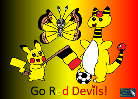 Belgium In Rio - Go Red Devils! by SpriteGirl