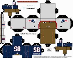 Chad Ochocinco Patriots Cubee by etchings13