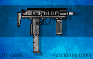 Fictional Firearm: HC-380k Machine Pistol by CzechBiohazard