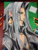 Sephiroth | Final Fantasy VII by victordcrodrigues