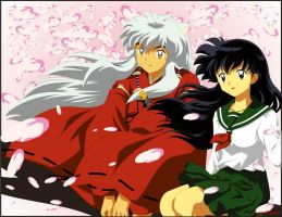 Inuyasha to Kagome by BrunaHana