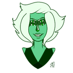 Malachite, Flat Colors (Steven Universe) by DuckOfEpicFail