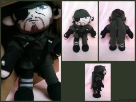 New Naked Snake Plush by Belle43