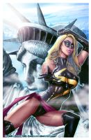 MISS MARVEL -old one. by J-Estacado